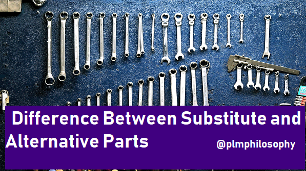 difference-alternative-substitute -parts